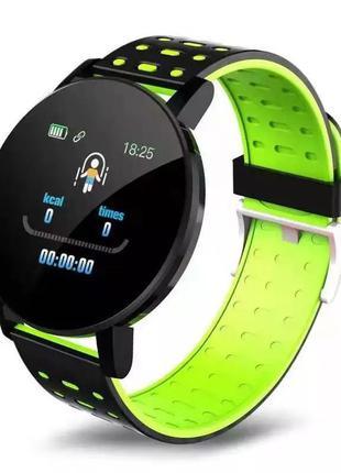 Смарт часы Rovtop 119 Plus, smart watch, фитнес браслет, фитне...