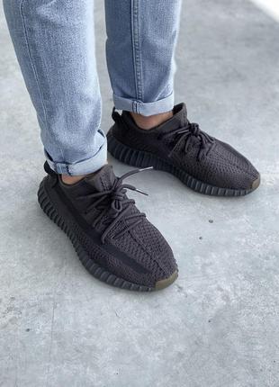 Adidas yeezy boost 350 мужские кроссовки адидас изи буст черные