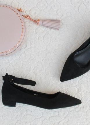 Черные туфли, лодочки 36, 37, 38, 39, 40 размера