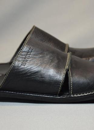 Шлепанцы navyboot сандалии босоножки мужские кожаные. испания....