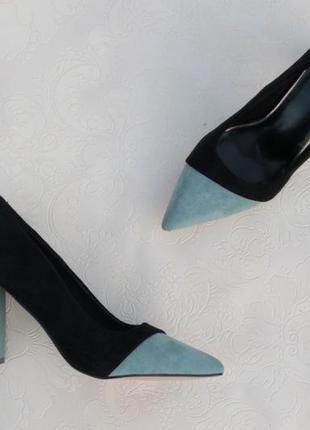 Туфли, лодочки 36, 37, 38, 39, 40 размера на устойчивом каблуке