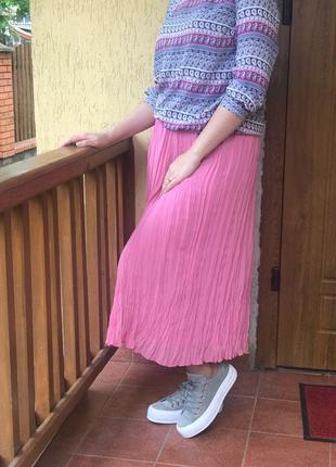 Літня спідниця гофре, юбка гофре