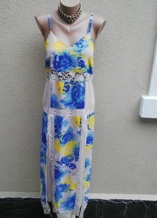 Новое платье,сарафан с открытой спиной,бельевой стиль,кружево(...