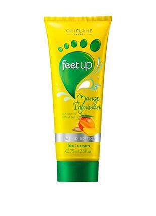 Крем для ног «манго и женьшень»