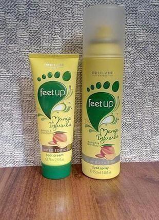"""Набор для ног """"манго и женьшень"""""""