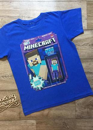 Популярная футболка minecraft ,майнкрафт mojang на 10 лет