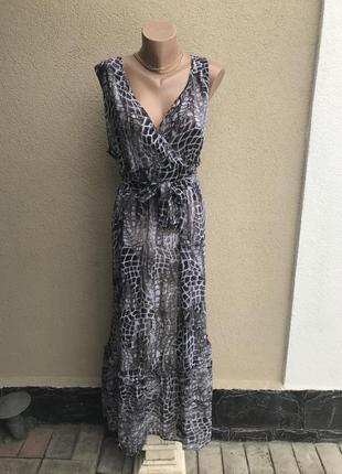 Легкое платье,сарафан с воланом,рюшей по низу,чуть прозрачное,...