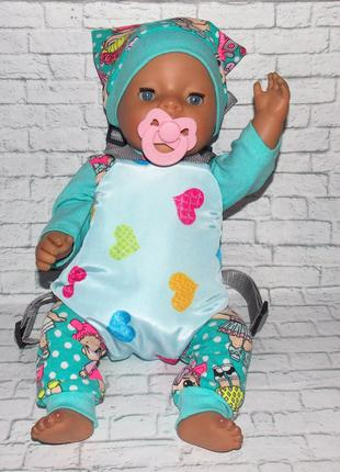 Кенгуру-переноска для пупса Беби Борн, Baby Born