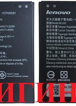 Аккумулятор (батарея) Lenovo BL243 A7000 A7600 K3 Note K50 Ори...