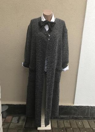 Кофта,пальто трикотаж.кардиган буклированный,большой размер,ше...