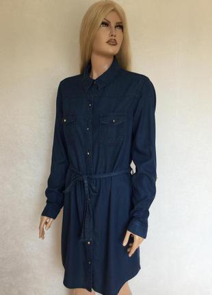 Платье рубашка f&f размер 14
