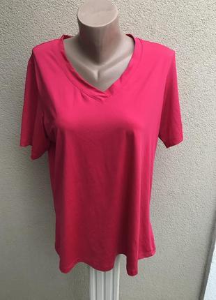 Яркая,розовая,спортивная футболка,майка ,большой размер,tcm tc...