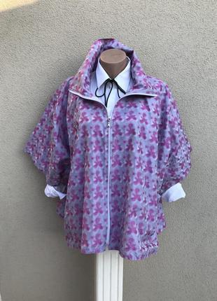 Легкий дождевик,куртка,ветровка,короткий тренч.свободного кроя...