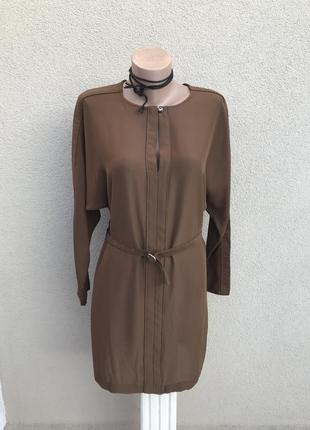 Блуза,туника,платье по типу летучей мыши,под пояс,без подкладк...