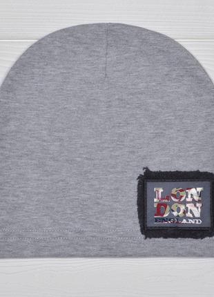 Трикотажная шапка 52-56 см