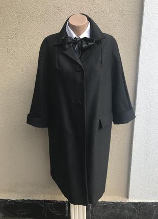 Стильное,легкое,шерсть пальто,фактурная ткань.тренч,плащ ,экск...