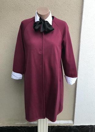 Красивое пальто трикотажное,,кардиган,кофта удлиненная,тренч,и...