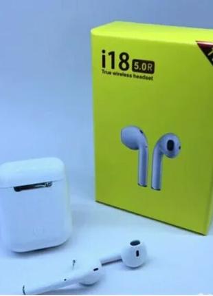 Беспроводные сенсорные Bluetooth наушники I18 Airpods