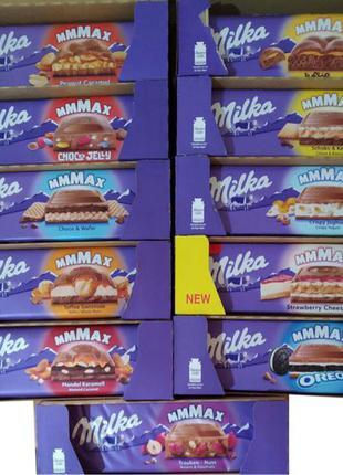 Шоколад Milka 300г і 100г. Товар з Польщі, Biedronka