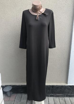 Платье-футболка удлиненное по фигуре, вискоза,h&m