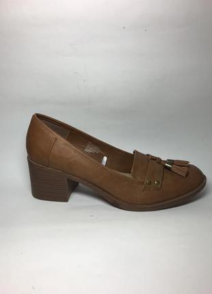 Туфли,лоферы,широкий каблук, кож,зам,большой размер 43р. /27.5...