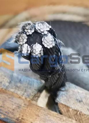 Канат стальной трос оцинкованный нержавеющий ГОСТ, DIN, EN, ПВХ.