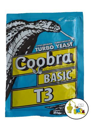 Турбо дрожжи Coobra basic T3