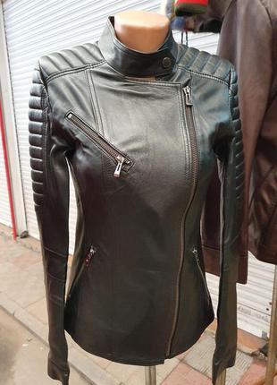 Скидка!!! кожаная куртка