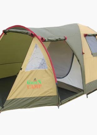 Палатка трехместная Х-1504 Green Camp