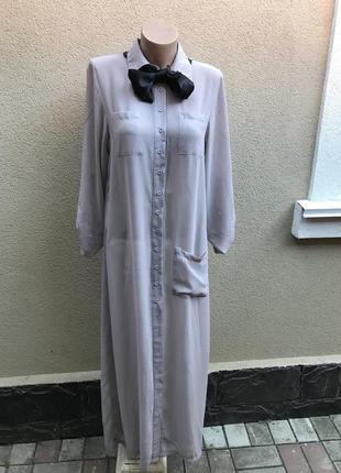 Длинное,прозрачное платье-рубашка,пляжное, халат, boohoo