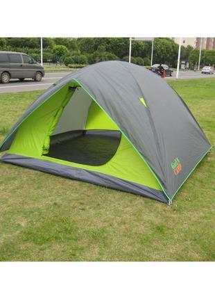 Палатка четырехместная 1018-4 Green CampБ/Д
