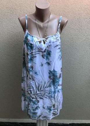 Легкая,шелковая майка,блуза,открытая спина,кружево, италия,шёл...