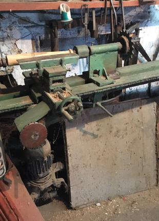 Продам станок токарный по по обработке древесины (самодельный)