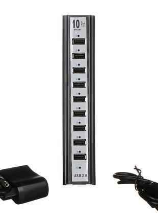 Разветвитель USB HUB 10 Ports
