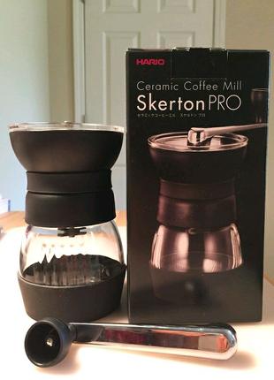 Ручная кофемолка Hario Ceramic Coffee Mill Skerton PRO