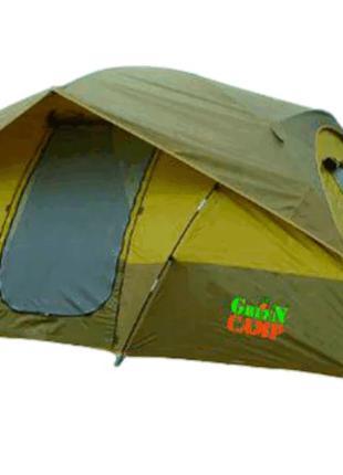 Четырехместная двухслойная палатка Green Camp 1100