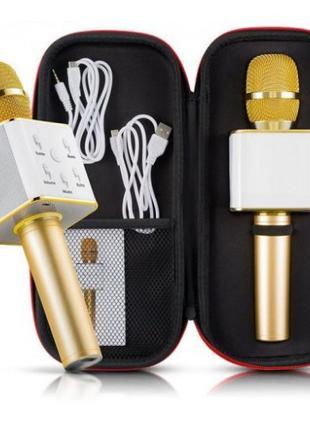 Караоке микрофон Bluetooth Колонка WS с Микрофоном для караоке