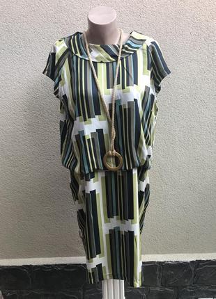 Платье с застежкой по спинке,в ретро стиле,большой размер, next