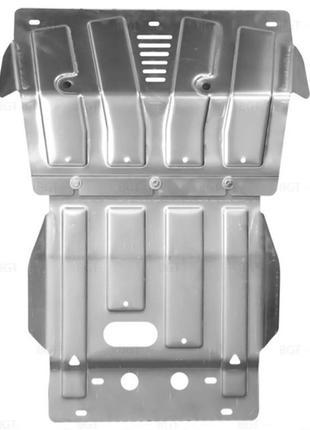 Алюминиевые защиты мотора и КПП Toyota 4Runner Prado 150 Lexus GX