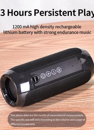 Bluetooth 4.2 Колонка TG - Mp3 Блютус Динамики 10W, 1200 mAh