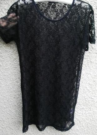 Платье (туника)atmosphere,блуза кружевное