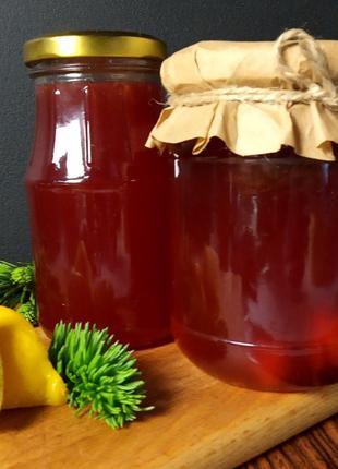 Сироп(варенье) из еловых шишек с лимоном