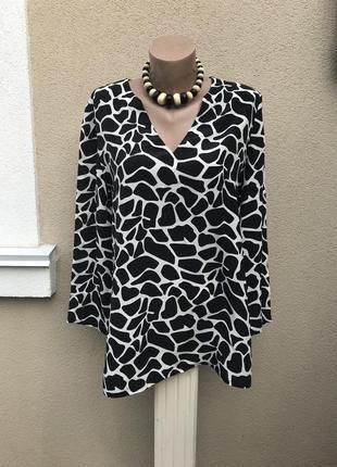 Шелковая рубашка,удлиненная блуза,туника,шёлк 100%,marks & spe...