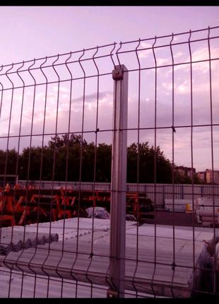 Секционный забор для ограждения
