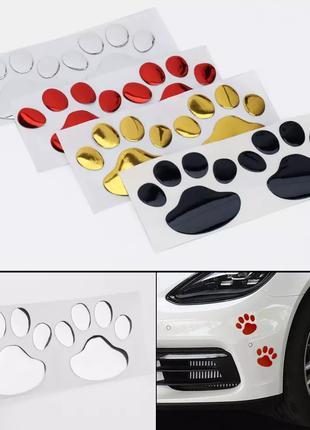 Крутая наклейка на автомобиль и не только, Дизайн лапы