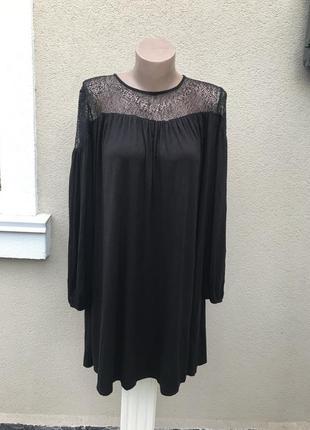 Чёрная блузка,туника,кружево,ажур,сетка,этно,бохо стиль,большо...