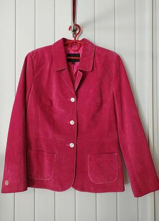 Натуральная замшевая куртка пиджак  dino'z