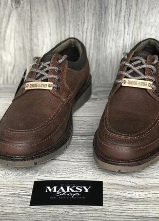 Мужские туфли ботинки dockers eastviw