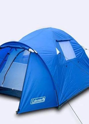 Двухместная двухслойная палатка Coleman 3006
