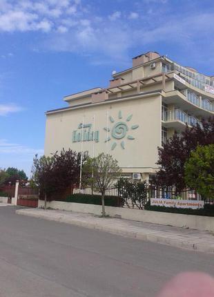 Аренда двухкомнатной квартиры в г.Солнечный Берег Болгария